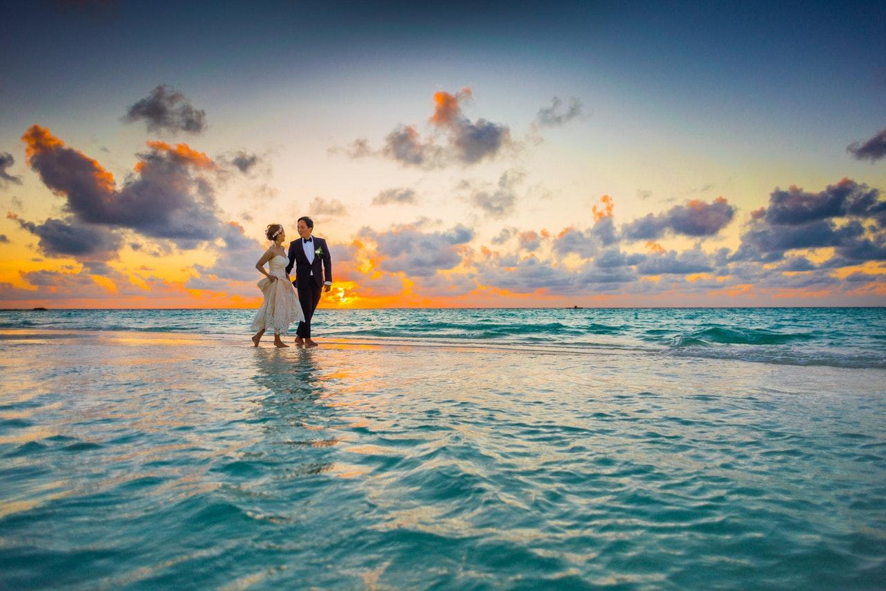 ferie og bryllup