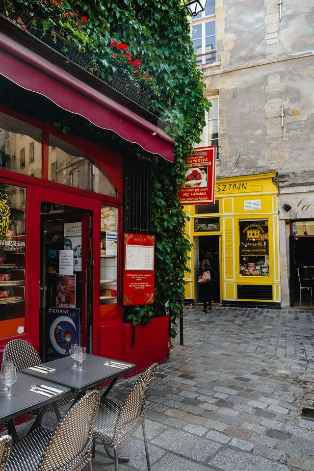 Cafeer i Paris